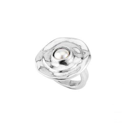 UNOde50 UNOde50 Ring | TEXCOCO | Zilver Parel | ANI0589BPLMTL