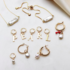 BY NOUCK BY NOUCK Earrings | GOLDEN PEARL
