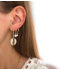 BY NOUCK BY NOUCK Earrings | GOLDEN PEARL