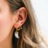 BY NOUCK BY NOUCK Earring | PEARL HORN | GOLD