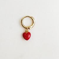 BY NOUCK BY NOUCK Earrings | LOVE RED | GOLD