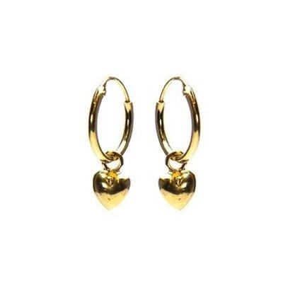 KARMA Jewelry KARMA CREOLEN | HOOPS HEART | GOLD | M2308