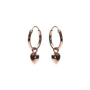 KARMA Jewelry KARMA CREOLEN | HOOPS HEART | ROSE GOLD