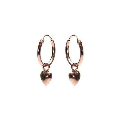 KARMA Jewelry KARMA CREOLEN | HOOPS HEART | ROSE GOLD | M2307