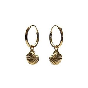 KARMA Jewelry KARMA CREOLEN | HOOPS SHELL | GOLD