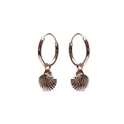 KARMA Jewelry KARMA CREOLEN | HOOPS SHELL | ROSE GOLD | M2262