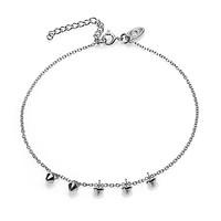 KARMA Jewelry KARMA Enkelbandje | Mini Cone | Zilver