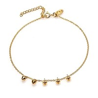 KARMA Jewelry KARMA Enkelbandje | Mini Cone | Gold
