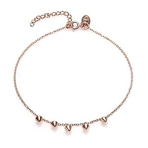 KARMA Jewelry KARMA Enkelbandje | Mini Cone | Rose Gold
