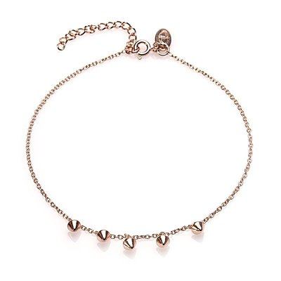 KARMA Jewelry KARMA Enkelbandje | Mini Cone | Rose Gold | 21010RP