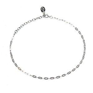 KARMA Jewelry KARMA Enkelbandje | Oval Chain | Zilver