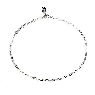KARMA Jewelry KARMA Enkelbandje | Oval Chain | Zilver | 21009S