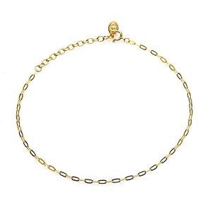 KARMA Jewelry KARMA Enkelbandje | Oval Chain | Gold