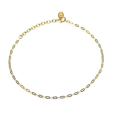 KARMA Jewelry KARMA Enkelbandje | Oval Chain | Gold | 21009GP