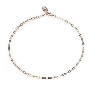 KARMA Jewelry KARMA Enkelbandje | Oval Chain | Rose Gold
