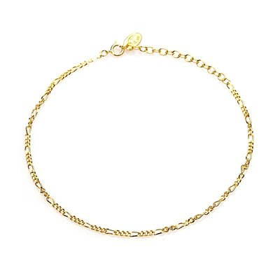 KARMA Jewelry KARMA Enkelbandje | Figaro  | Gold | 21008GP