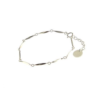 BLINCKSTAR BLINCKSTAR Armband | Zilver | Schakel | 1901A77