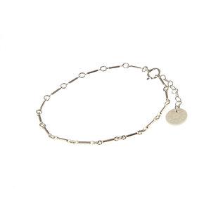 BLINCKSTAR BLINCKSTAR Armband | Zilver | Schakel