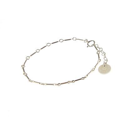 BLINCKSTAR BLINCKSTAR Armband | Zilver | Schakel | 1901A78