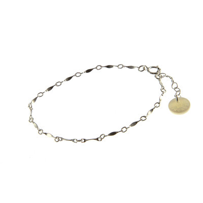 BLINCKSTAR BLINCKSTAR Armband | Zilver | Schakel | 1901A28