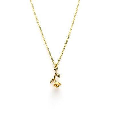 KARMA Jewelry KARMA Ketting | ROSE | Goud | T157