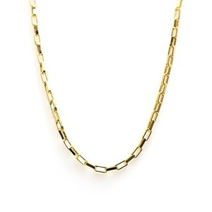 KARMA Jewelry KARMA Ketting | Square Chain | Goud