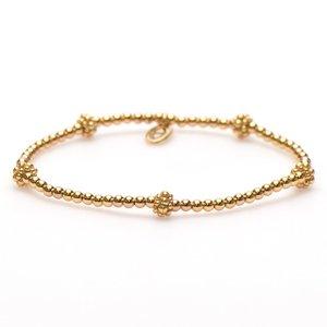 KARMA Jewelry KARMA Armband | XS Balistyle Goud | Logo Bead |  92259GP