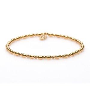 KARMA Jewelry KARMA Armband | XS Balistyle Goud | Logo Bead |  92294GP