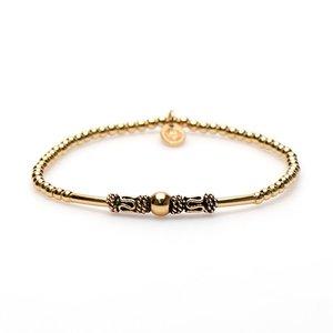 KARMA Jewelry KARMA Armband | XS Balistyle Goud | Logo Bead |  92222GP
