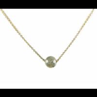 KARMA Jewelry KARMA Ketting | Labradoriet | Goud