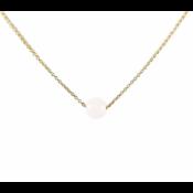 KARMA Jewelry KARMA Ketting | Rozenkwarts | Goud | 94076
