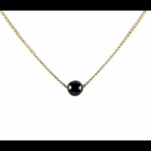 KARMA Jewelry KARMA Ketting | Onyx | Goud
