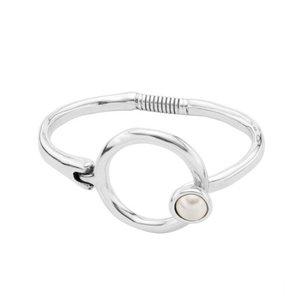 UNOde50 UNOde50 Armband | PERLADO | ZILVER | Parel | FW19