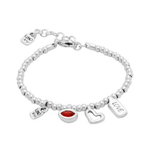 UNOde50 UNOde50 Armband | I'M WAITING 4 U RED | MY LUCK