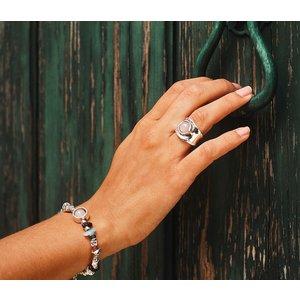 UNOde50 UNOde50 Armband | ENERGY +| Rozenkwarts | MY LUCK