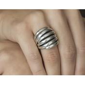 GATZ GATZ Ring | BAMBOO | Zilver | A1508