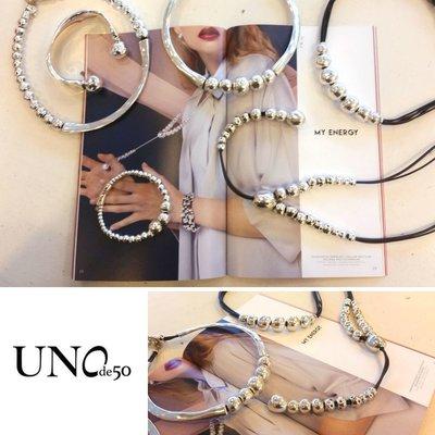 UNOde50 UNOde50 Armband | GOTEANDO | Zilver | Elastisch | FW19 | PUL1844MTL0000