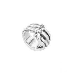 UNOde50 UNOde50 Ring | TRENZADO | Zilver | MY ENERGY | FW19