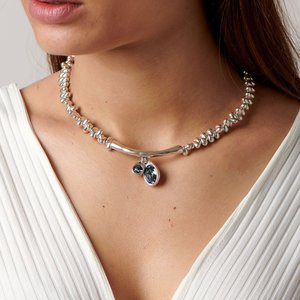 UNOde50 UNOde50  Ketting | ECLIPSE | ZILVER | KRISTAL | SS19
