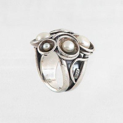 GATZ GATZ Ring | LIMELIGTH | Zilver | Parels | 1613