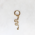 BY NOUCK BY NOUCK Earrings |  SNAKE STAR | GOLD