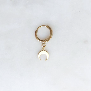 BY NOUCK BY NOUCK Earrings | MINI CRESCENT | GOLD