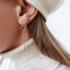BY NOUCK BY NOUCK Earrings | MINI CRESCENT | GOLD