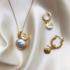 BY NOUCK BY NOUCK Earrings | SAND DOLLAR | GOLD