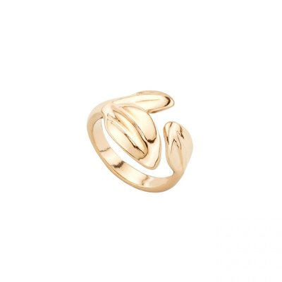 UNOde50 UNOde50  Ring | LEAF ME ALONE | Goud | MY NATURE | ANI0602ORO0
