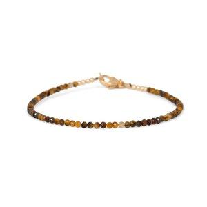 MIAB Jewels MIAB Armband | Goud | Tiger Eye All