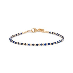 MIAB Jewels MIAB Armband | Goud | Lapis Lazuli | One by One