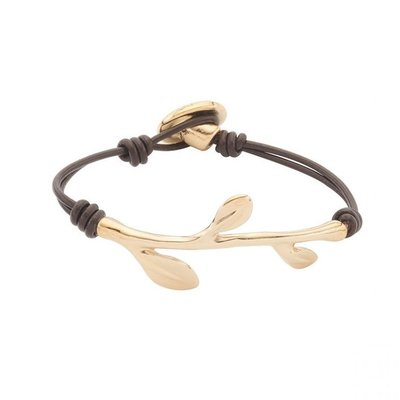 UNOde50 UNOde50 Armband | TANGLED UP | GOUD | MY NATURE |  PUL1873OROMAR0M