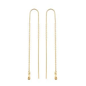 MIAB Jewels MIAB Oorbellen | Goud | Double Line II
