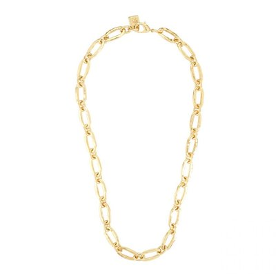 UNOde50 UNOde50 Ketting | LINK | GOLD | Half lange schakel ketting | COL0729ORO0000U
